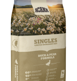 CHAMPION PET FOOD ACANA DUCK & PEAR SINGLES 4.5LBS