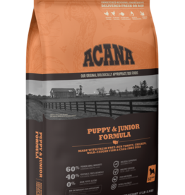 CHAMPION PET FOOD ACANA HERITAGE PUPPY & JUNIOR FORMULA 4.5LBS