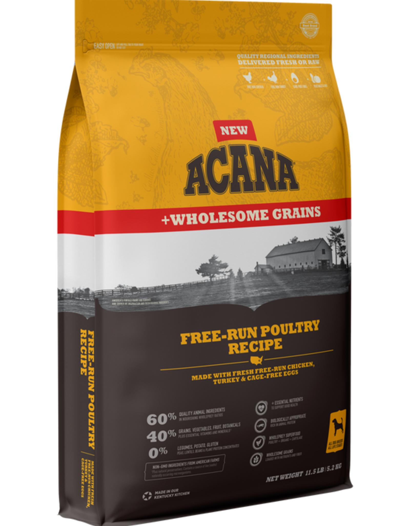 CHAMPION PET FOOD ACANA POULTRY & GRAINS 4LBS