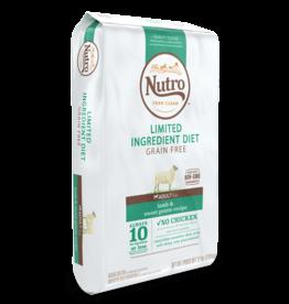 NUTRO PRODUCTS  INC. NUTRO DOG ADULT LID LAMB & SWEET POTATO 4lbs