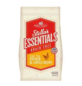 STELLA & CHEWY'S LLC STELLA'S ESSENTIALS CHICKEN & LENTIL DOG 3#