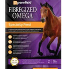 PENNFIELD NUTRENA FIBERGIZED OMEGA 50LBS