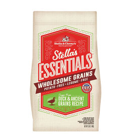 STELLA & CHEWY'S LLC STELLA & CHEWY'S ESSENTIALS DUCK WITH ANCIENT GRAINS 25LBS