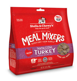 STELLA & CHEWY'S LLC STELLA & CHEWY'S FREEZE-DRIED TANTALIZING TURKEY MEAL MIXERS 9OZ