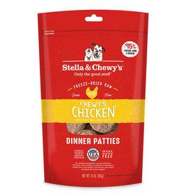 STELLA & CHEWY'S LLC STELLA & CHEWY'S FREEZE DRIED CHICKEN PATTIES 5.5OZ