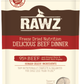 RAWZ RAWZ DOG FREEZE DRIED BEEF 14OZ