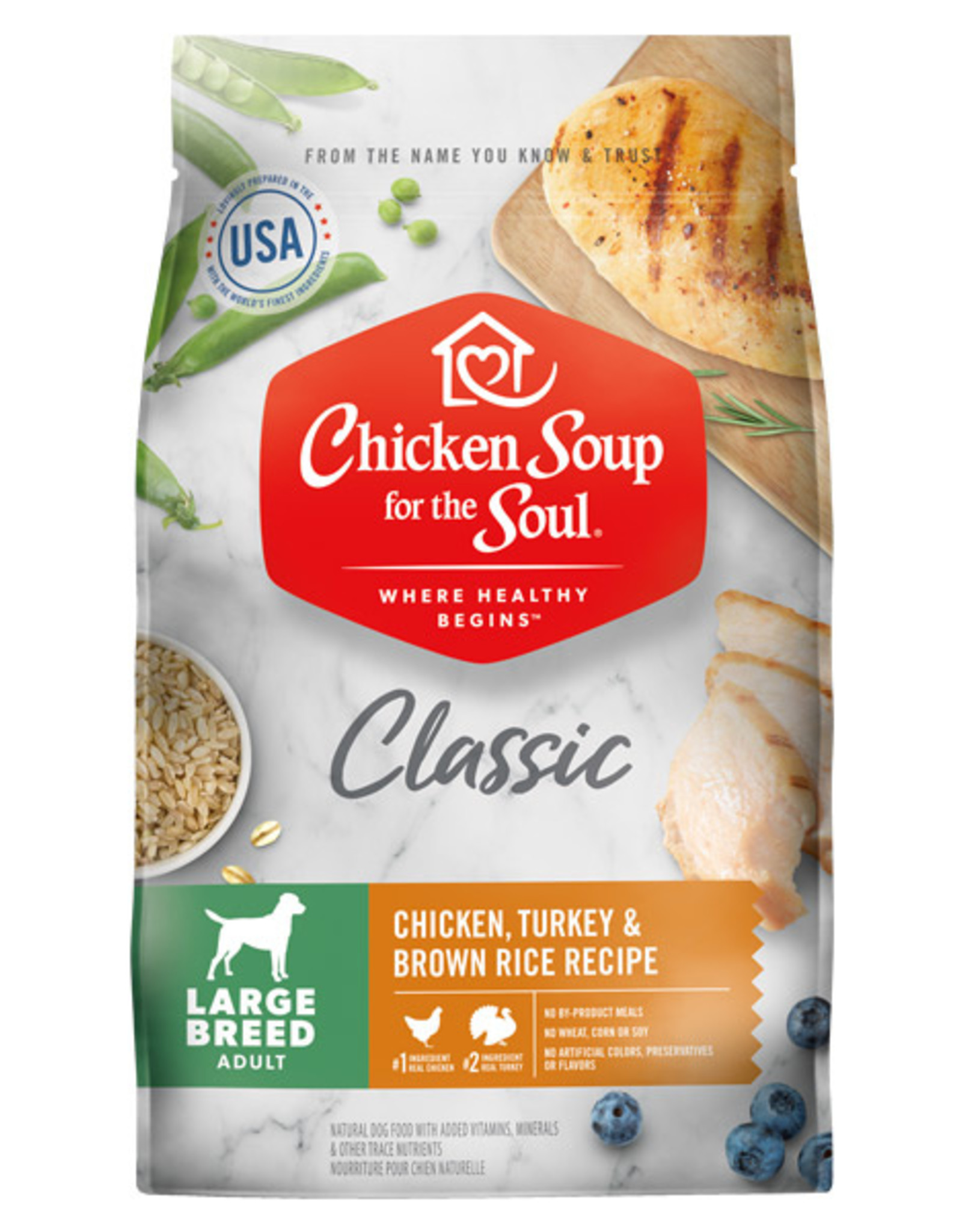 DIAMOND PET FOODS CHICKEN SOUP DOG LARGE BREED ADULT 28#