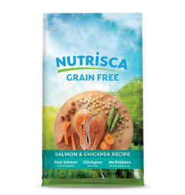 DOGSWELL, LLC NUTRISCA DOG SALMON & CHICKPEA 28#