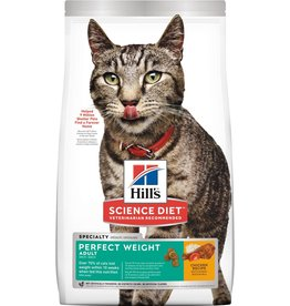 SCIENCE DIET HILL'S SCIENCE DIET FELINE ADULT PERFECT WEIGHT 7LBS
