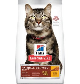 HILL'S HILL'S SCIENCE DIET FELINE HAIRBALL MATURE 15.5LBS