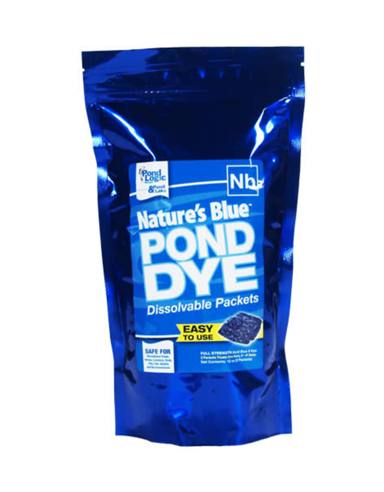 POND LOGIC & POND LAKE BLUE POND DYE WSP 2 PK