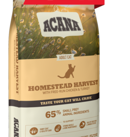 CHAMPION PET FOOD ACANA CAT HOMESTEAD HARVEST 4#