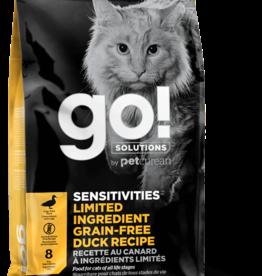 PETCUREAN GO! S+S LID GRAIN FREE DUCK CAT 3#