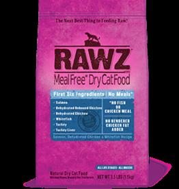 RAWZ RAWZ CAT SALMON, CHICKEN & WHITE FISH 3.5LBS