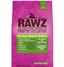 RAWZ RAWZ CAT CHICKEN & TURKEY 7.8LBS