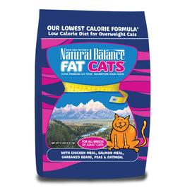 NATURAL BALANCE PET FOODS, INC NATURAL BALANCE FAT CATS LOW CALORIE 6LBS
