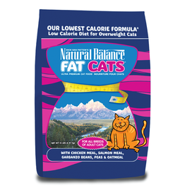 NATURAL BALANCE PET FOODS, INC NATURAL BALANCE FAT CATS LOW CALORIE 15LBS