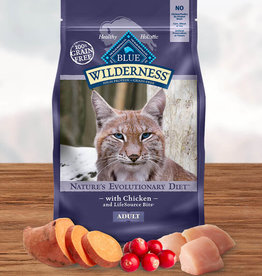 BLUE BUFFALO COMPANY BLUE BUFFALO CAT WILDERNESS CHICKEN 6LBS