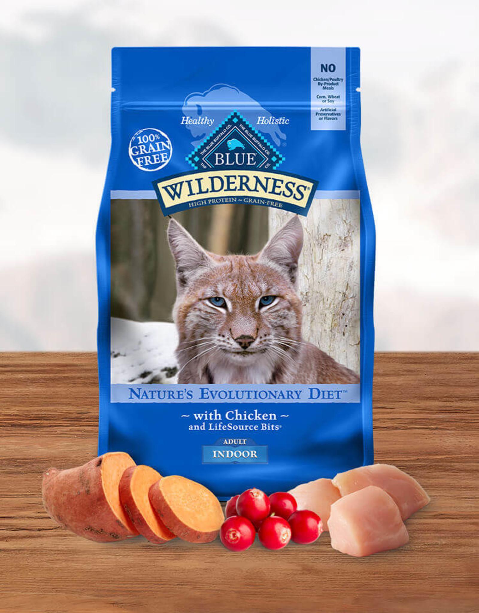 BLUE BUFFALO COMPANY BLUE BUFFALO CAT WILDERNESS INDOOR 5LBS