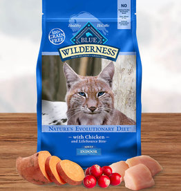 BLUE BUFFALO COMPANY BLUE BUFFALO CAT WILDERNESS INDOOR 5LBS