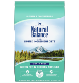 NATURAL BALANCE PET FOODS, INC NATURAL BALANCE CAT GREEN PEA & CHICKEN 5LBS