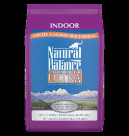 NATURAL BALANCE PET FOODS, INC NATURAL BALANCE CAT INDOOR ULTRA RABBIT/SALMON 10LBS
