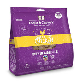 STELLA & CHEWY'S LLC STELLA & CHEWY'S CAT FREEZE DRIED CHICK, CHICK CHICKEN DINNER 3.5OZ