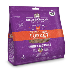 STELLA & CHEWY'S LLC STELLA & CHEWY'S CAT FREEZE DRIED TUMMY TICKLIN TURKEY  DINNER 3.5OZ
