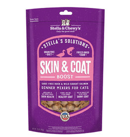 STELLA & CHEWY'S LLC STELLA & CHEWY'S SOLUTIONS CAT SKIN & COAT DUCK AND SALMON 7.5OZ