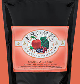 FROMM FAMILY FOODS LLC FROMM FOUR-STAR CAT SALMON A LA VEG 5LBS