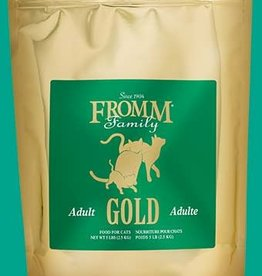 FROMM FAMILY FOODS LLC FROMM GOLD CAT ADULT 5LBS (DISC)
