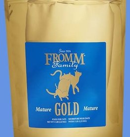 FROMM FAMILY FOODS LLC FROMM GOLD CAT MATURE SENIOR 5LBS
