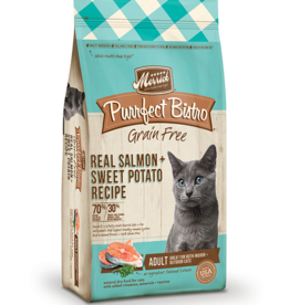 MERRICK PET CARE, INC. MERRICK CAT PURRFECT BISTRO ADULT SALMON 4#