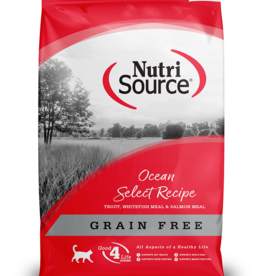 NUTRISOURCE NUTRISOURCE CAT GRAIN FREE OCEAN SELECT 6.6LBS
