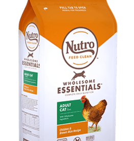 NUTRO PRODUCTS  INC. NUTRO WHOLESOME ESSENTIALS ADULT CAT CHICKEN 5LBS