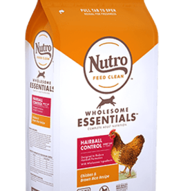 NUTRO PRODUCTS  INC. NUTRO WHOLESOME ESSENTIALS ADULT CAT HAIRBALL CHICKEN 5LBS