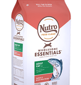 NUTRO PRODUCTS  INC. NUTRO WHOLESOME ESSENTIALS ADULT CAT SALMON, CHICKEN & RICE 5#
