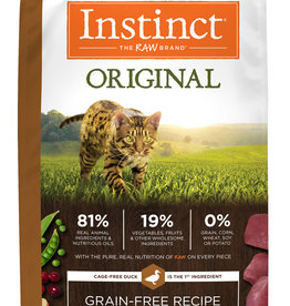 NATURE'S VARIETY/FROZEN NATURE'S VARIETY CAT INSTINCT DUCK 4.5#