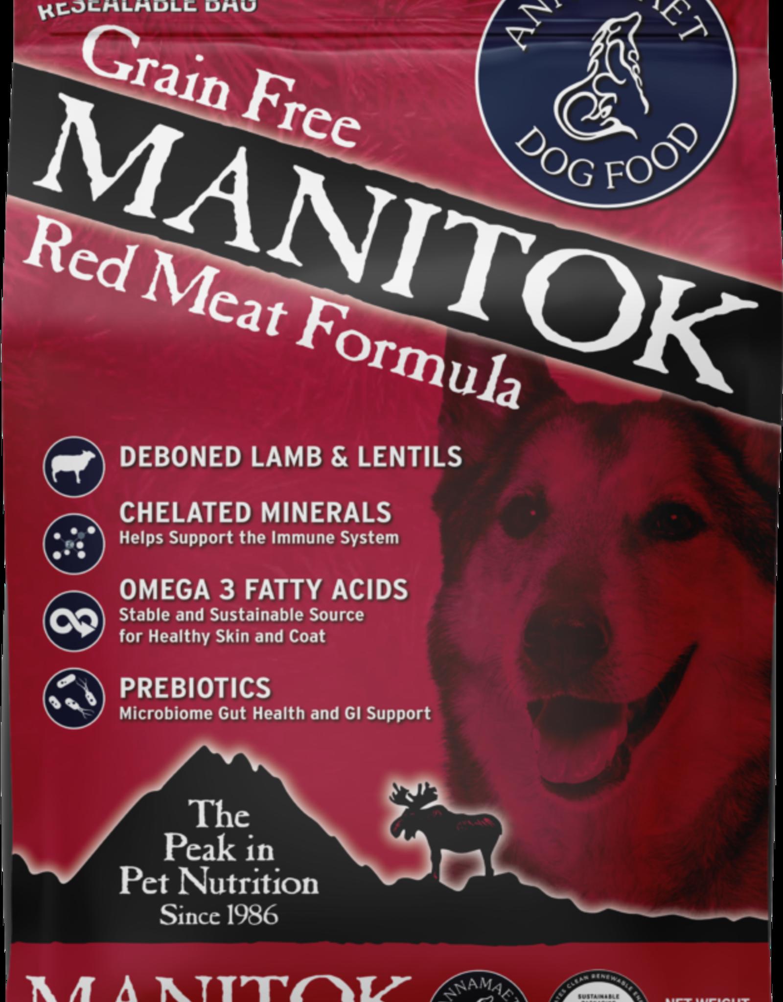 Annamaet ANNAMAET DOG GRAIN FREE MANITOK RED MEAT 15LBS