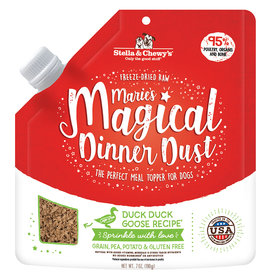 STELLA & CHEWY'S LLC STELLA & CHEWY'S MARIE'S MAGICAL DINNER DUST DUCK DUCK GOOSE 7OZ