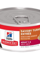 SCIENCE DIET HILL'S SCIENCE DIET FELINE CAN ADULT GOURMET TURKEY 5.5OZ