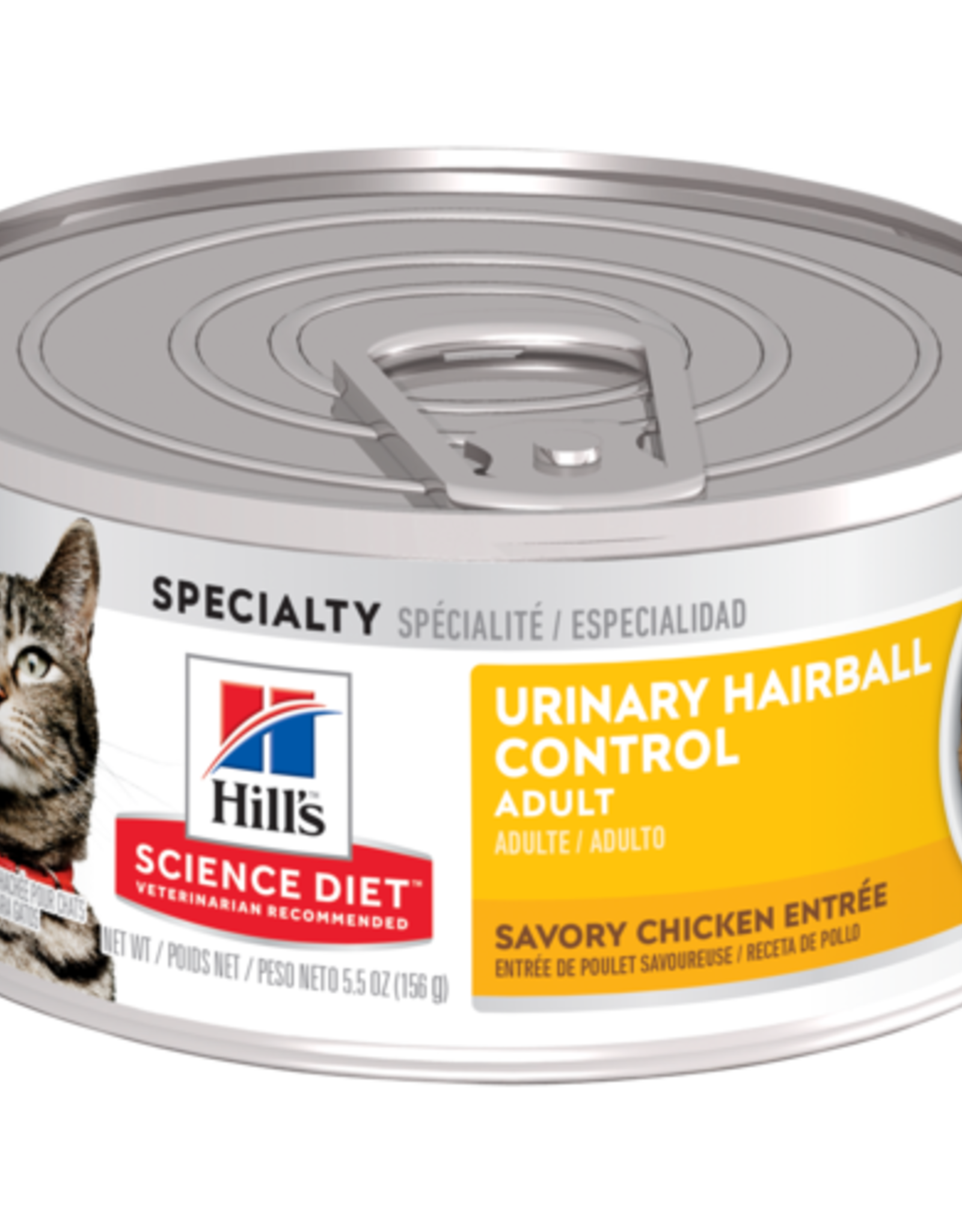 SCIENCE DIET HILL'S SCIENCE DIET FELINE ADULT URINARY HAIRBALL CONTROL 2.9OZ CASE OF 24