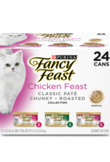 FANCY FEAST CHICKEN FEAST VARIETY CANS 24 PACK DISCONTINUED