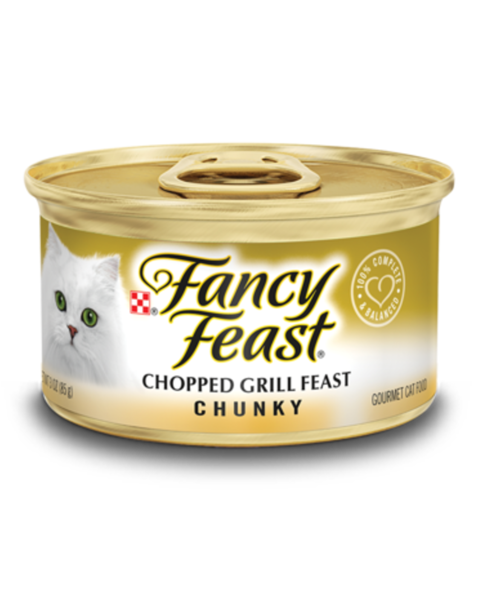 FANCY FEAST CHUNKY CHOPPED GRILL 3OZ CAN