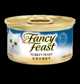 FANCY FEAST CHUNKY TURKEY 3OZ CAN