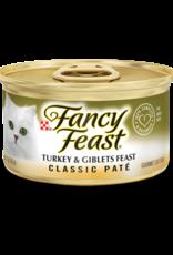 FANCY FEAST CLASSIC TURKEY & GIBLETS 3OZ CASE OF 24