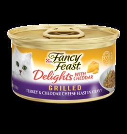 FANCY FEAST DELIGHTS TURKEY & CHEESE 3OZ CAN