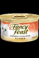 FANCY FEAST FLAKED CHICKEN & TUNA FEAST  3OZ CASE OF 24