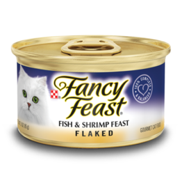 FANCY FEAST FLAKED FISH & SHRIMP 3OZ CASE OF 24