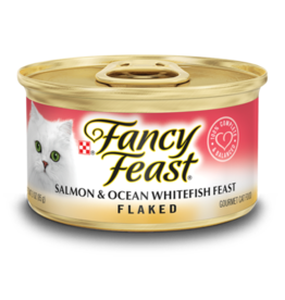 FANCY FEAST FLAKED SALMON & OCEAN FISH 3OZ CAN